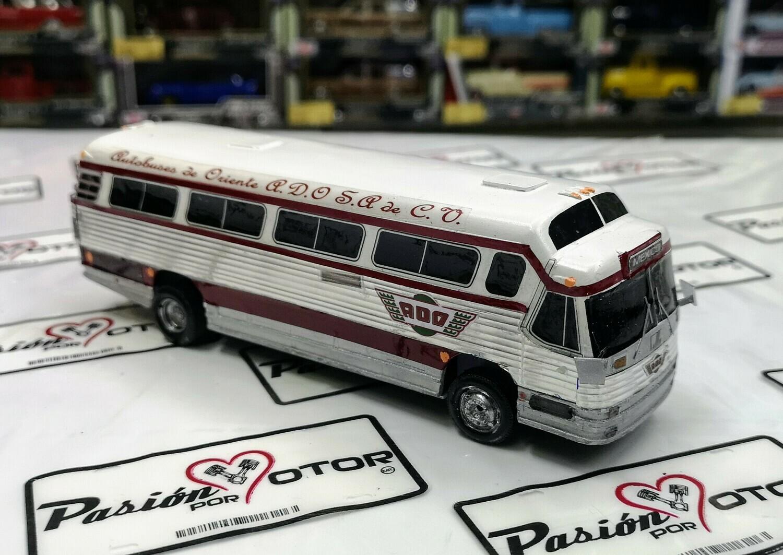 1:60 Dina Flexible ADO Autobuses de Oriente Autobus Artesanal En Resina