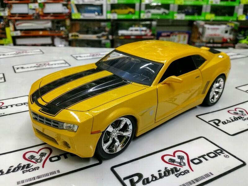 1:24 Chevrolet Camaro Concept 2006 Bumblebee Transformers Jada Toys Hollywood Rides En Display a Granel