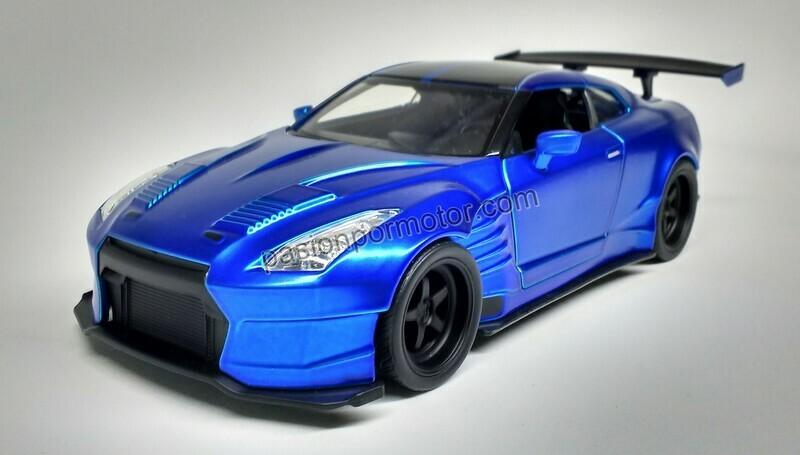 1:24 Nissan GT-R35 Ben Sopra 2009 Brian´s Rapido Y Furioso 6 Jada Toys En Display / A Granel