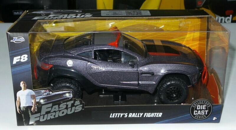 1:24 Local Motors Rally Fighter 2009 Letty´s Rapido Y Furioso 8 Jada Toys C Caja