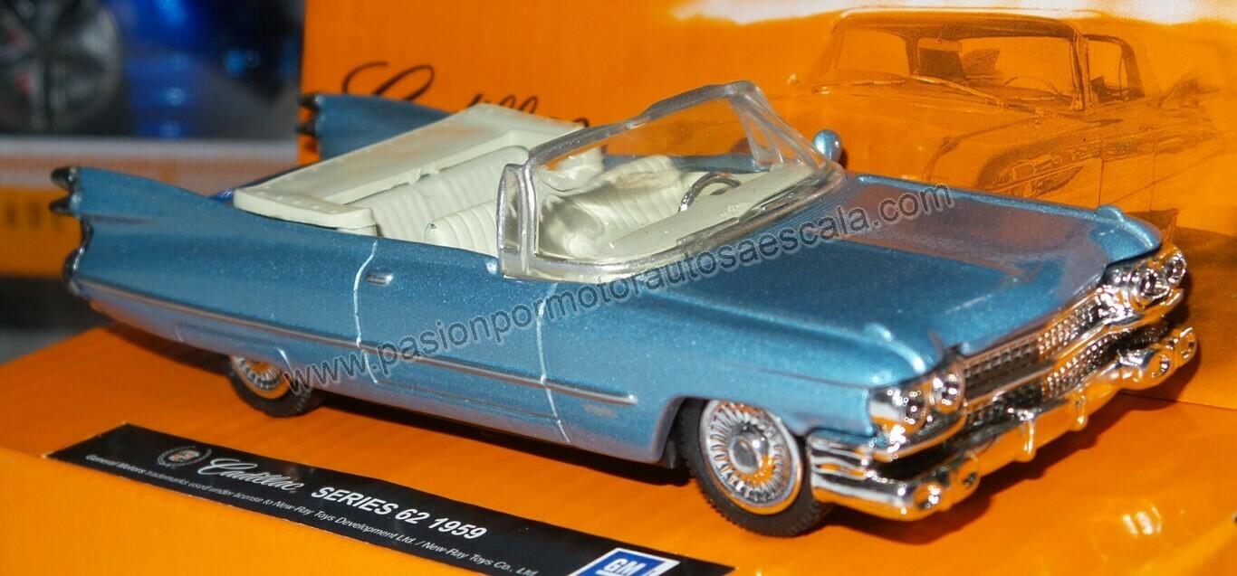 1:43 Cadillac El Dorado Series 62 Convertible 1959 Azul New Ray