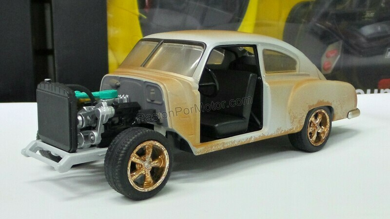 1:24 Chevrolet Fleetline 1951 Junkyard Dom´s Rapido Y Furioso 8 Jada Toys En Display / A Granel