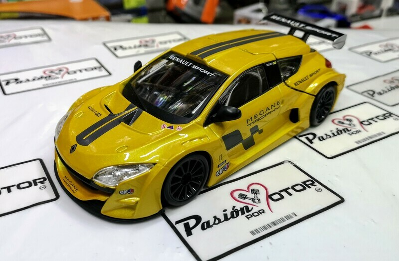 1:24 Renault Sport Megane Trophy 2011 Bburago Burago En Display / A Granel