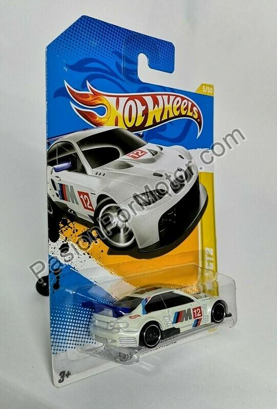 1:64 BMW M3 GT2 Hot Wheels Básico 2012 5/247 HW Premiere 5/50