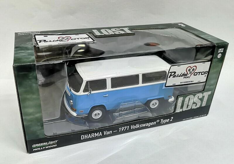 1:24 Volkswagen Type 2 1971 Lost Dharma Van Combi T2 Greenlight