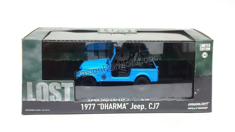 1:43 Jeep CJ7 1977 Dharma Lost de Greenlight