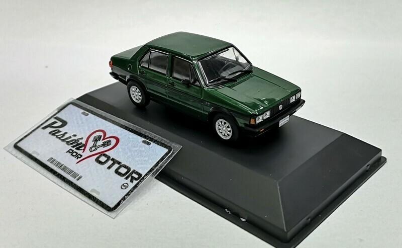 1:43 Volkswagen Atlantic GLS 1984 Verde Ixo Jetta MKI