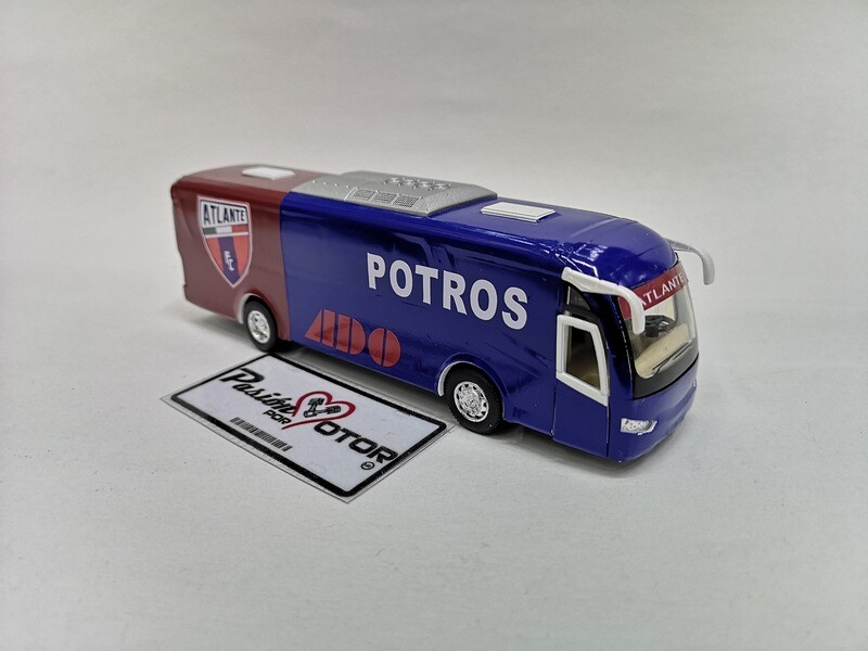 1:68 Scania Irizar Pb Autobus Futbol Potros Atlante Kinsfun 1:64