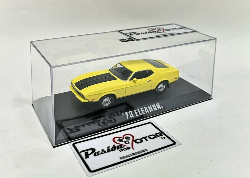 1:43 Ford Mustang 1973 Amarillo Eleanor 60 Segundos Gone In 60 Seconds Greenlight Mach 1