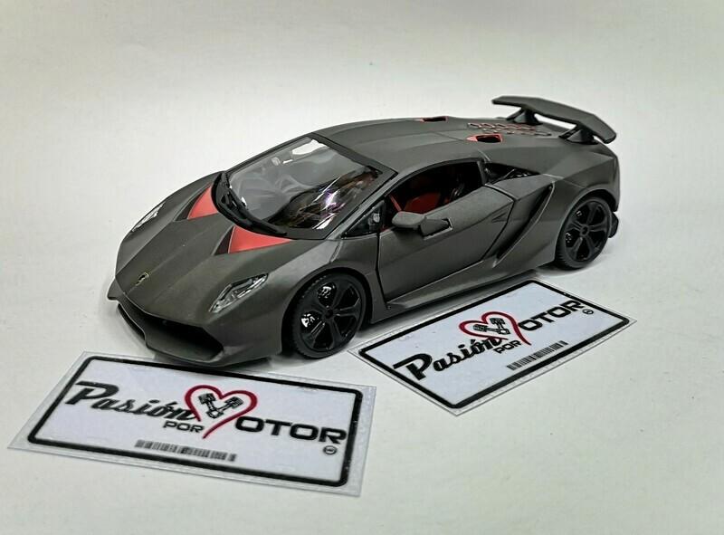 1:24 Lamborghini Sesto Elemento 2012 Bburago En Display / A Granel