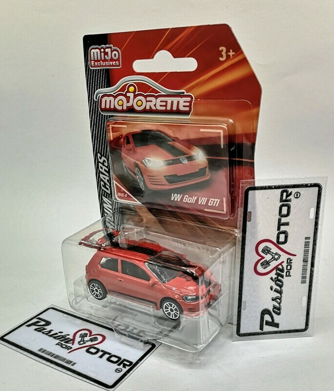 1:64 Volkswagen Golf VII GTi Rojo Majorette Premium Cars