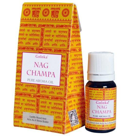 Olio Aromatico Nag Champa - contenuto 10 ml