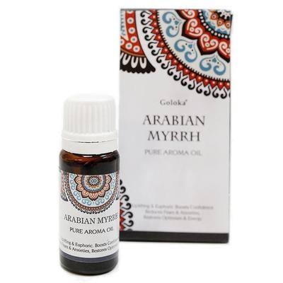Olio Aromatico di Mirra Arabica - contenuto 10 ml