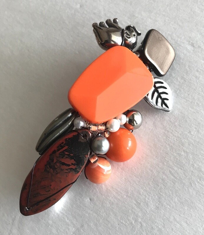 BARRETTE ORANGE
