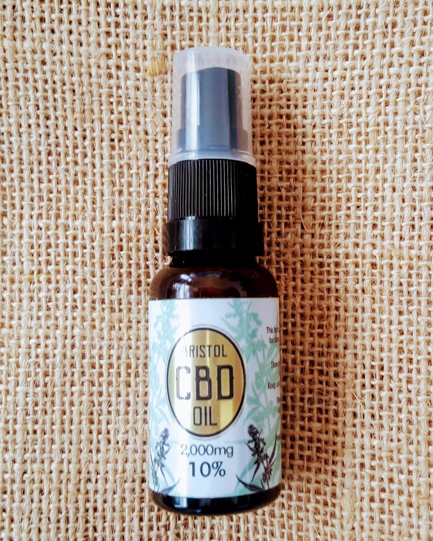 2000mg (10%) 'Gold' CBD oil 20ml Spray.