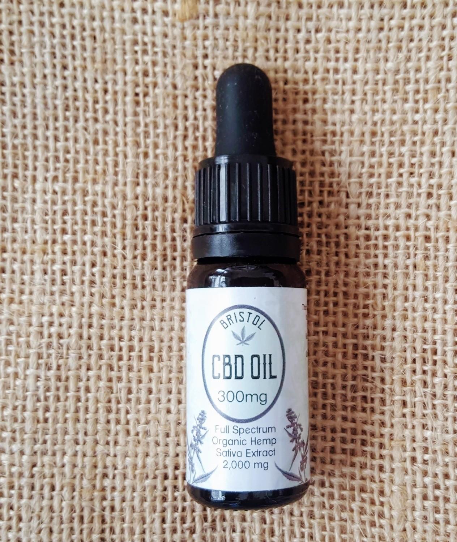 300mg (3%) CBD oil 10ml dropper bottle