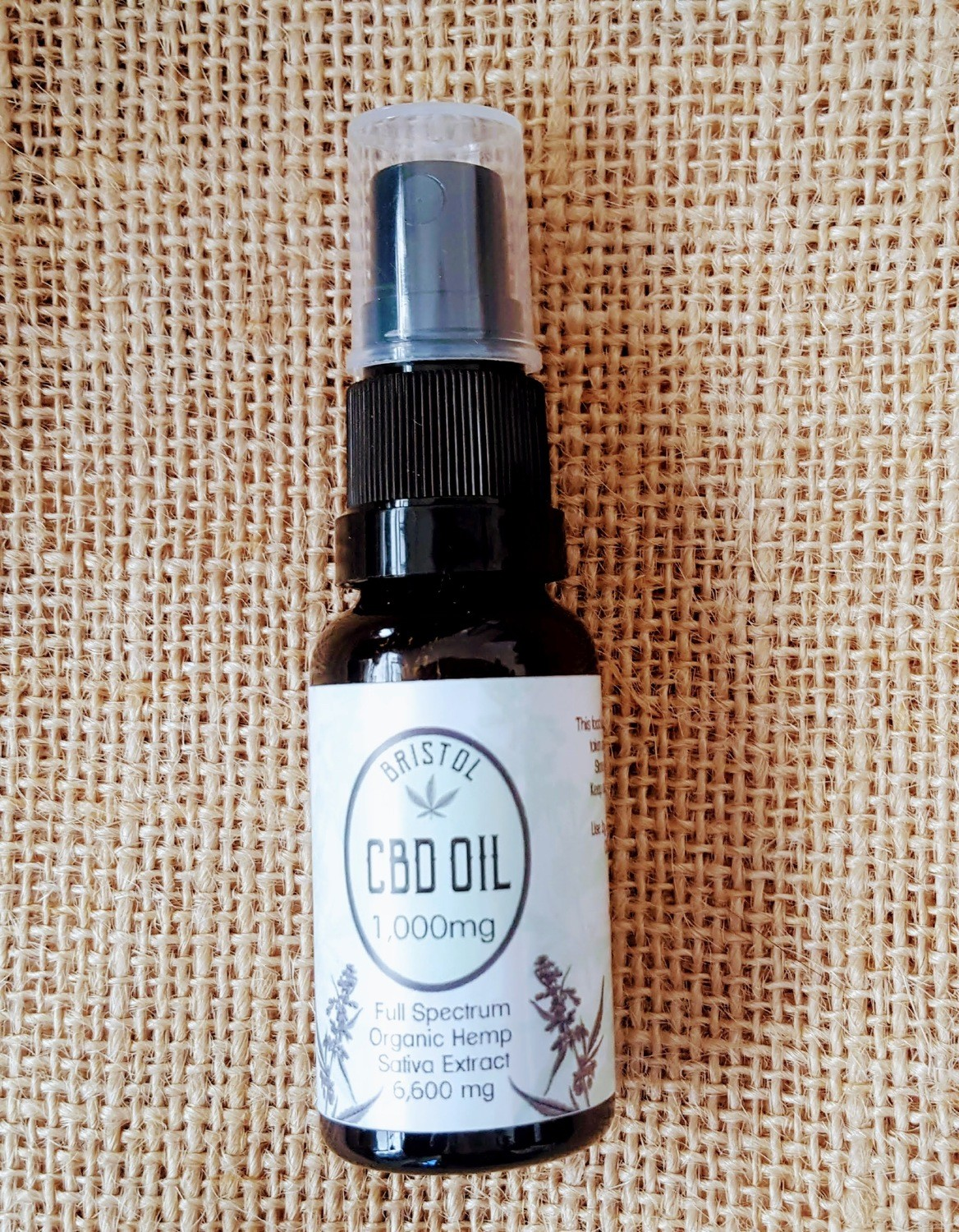 600mg (3%) CBD oil 20ml Spray