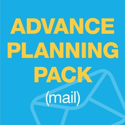 Advance Care Planning Pack (by mail)