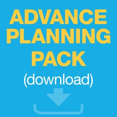 Advance Care Planning Pack (download soft copies)