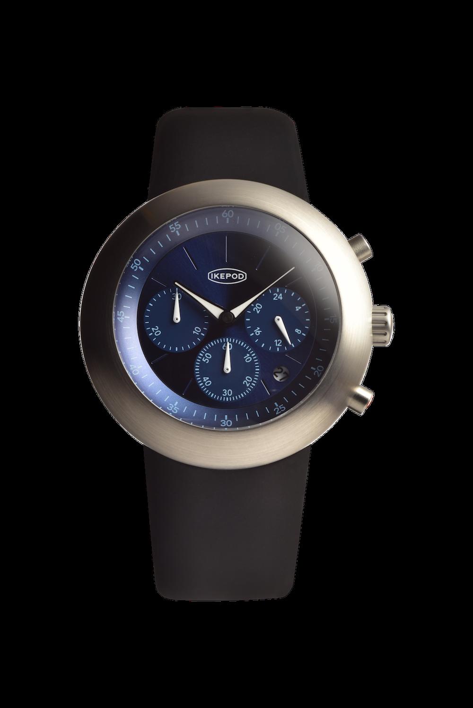 Часы Ikepod Chronopod BLUE SUEDE 006