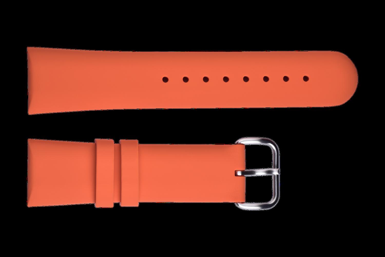 Ремешок силиконовый оранжевый