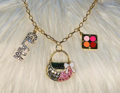 Chanel G-L-A-M Charm Bracelet