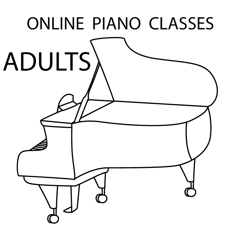 Adult Piano PlayTime - ONLINE Tues 6:30-7:15pm