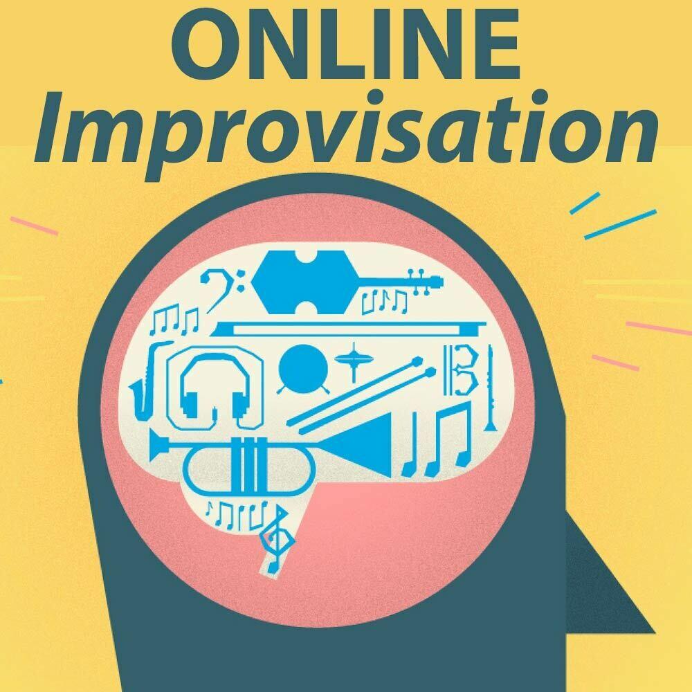 """Improv class: do ba da di----ya dat!"" (ONLINE Jazz)  - Tuesdays 1:45-2:30pm"