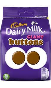 Cadbury Dairy Milk Giant Buttons 119g