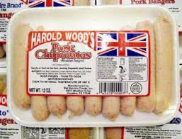Harold Wood's Pork Chipolatas 12oz