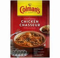 Colman's Chicken Chasseur Mix