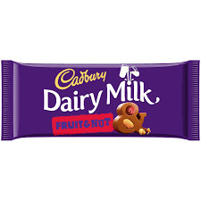 Cadbury Dairy Milk Fruit & Nut 110g