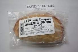 4 & 20 Cheese & Onion Pasty 7oz