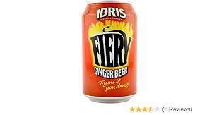 Idris Fiery Ginger Beer 330ml