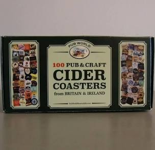 100 Pub & Craft Cider Coasters