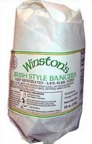 Winston's Irish Style Bangers 1lb