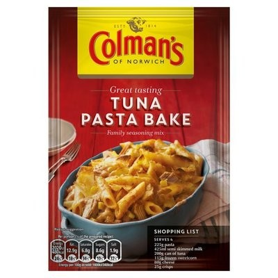 Colman's Tuna Pasta Bake