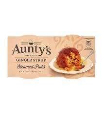 Aunty's Puds Ginger Syrup 2pk