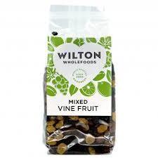 Wilton Mixed Vine Fruit 375g