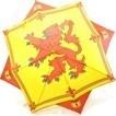 Large Scottish Lion Umbrella