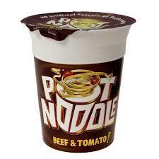 Pot Noodle Beef & Tomato 90g