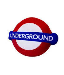 London Underground Cushion