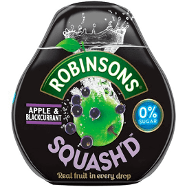 Robinson's Squash'd Apple Blackcurrant 66ml