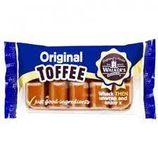 Walkers Orig Toffee 100g