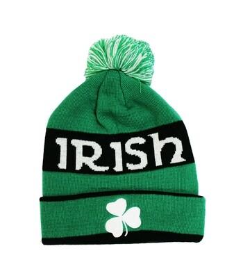 Irish Pom Beanie