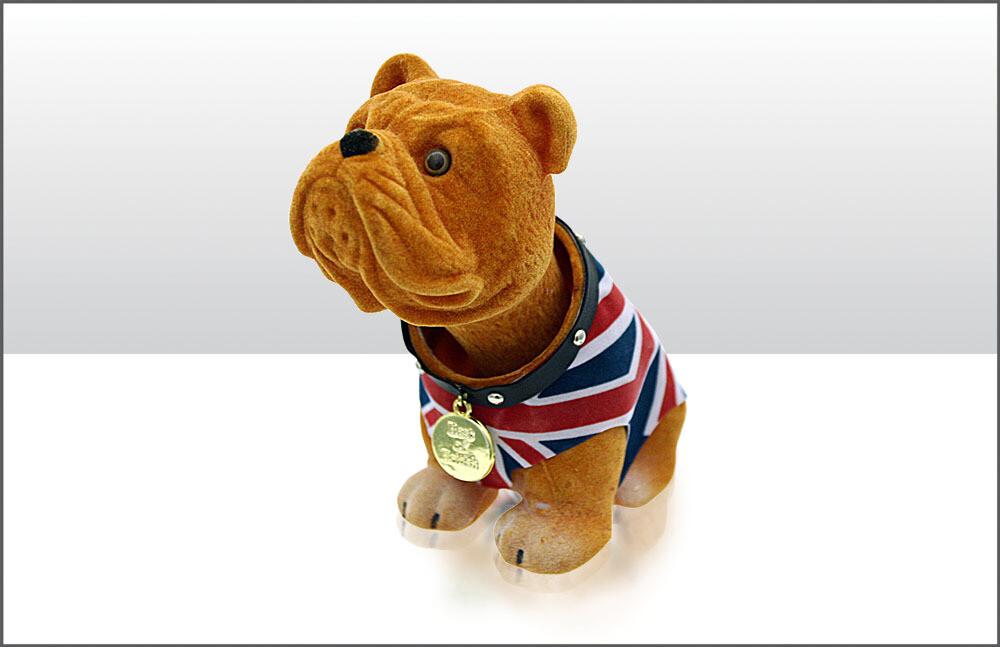 Nodding British Bulldog