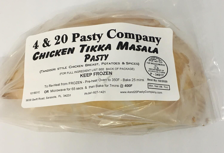4 & 20 Chicken Tikka Masala Pasty