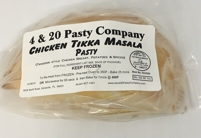 4 & 20 Chicken Tikka Masala Pasty