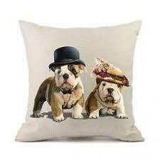 Cushion Cute Bulldogs