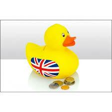 Rubber Duck Money Box